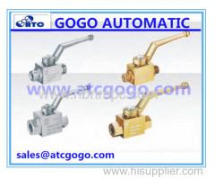 high pressure Steel hydraulic ball valve