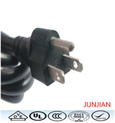 High standard US 3pin power plug cable