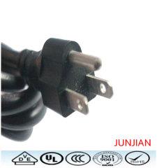 High standard US 3pin power plug cable
