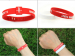 new products arts and crafts rubber gift silicone bracelet for promotional gift