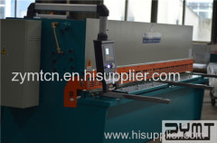 hydraulic swing beam nc shearing machine