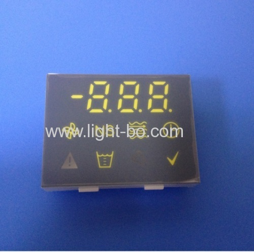 Custom Design Ultra white / Ultra red 7 segment led display for temperature control