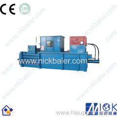 automatic Horizontal waste PET bottles baler/automatic waste bottles baler/automatic PET bottles baler