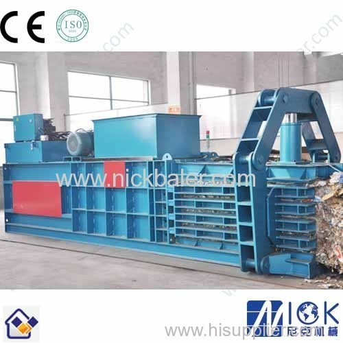 Full-automatic opearation without human Newspaper recycling strapping machine
