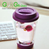 double wall glass cups for tea juices coffee beer
