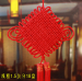 Lucky Big Red Chinese Knot