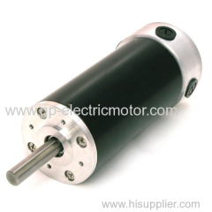 High Performance Rare Earth Magnet Brushed DC Motor
