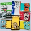 Custom Destructible Label Any Size Hello My Name Is Graffiti Eggshell Blank Stickers Name Tags