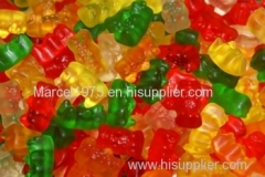 Haribo sugar free vitamins C gummy bear candy and sweets for wholesale