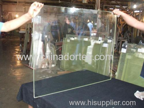 ZF2 lead glass for radiation protection