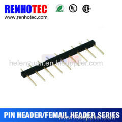 Factory 1.5 x 2.54 Pitch 9 pin Straight Solder Pin Header