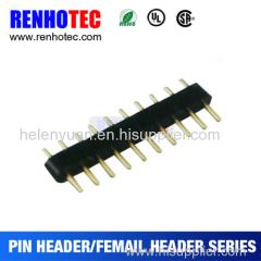 10 Pin Header 1.3 x 1.1mm pitch board pin headers