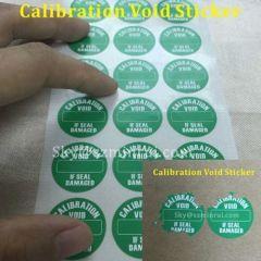 calibration tamper evident labels/custom calibration stickers/calibration stickers