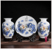 ceramic chinese decorative flower vase for home centerpiece