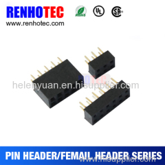 180 Degree 2.54mm Pitch Dual Row Header Jack H 3.0