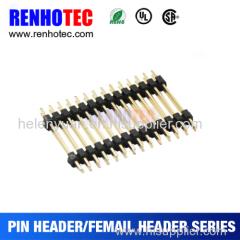 Dosin Factory Dual Row NPIN Pin Header 1.27mm Dual Row