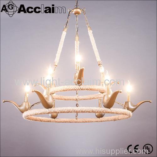 2016 Creative Industries lights rope wheel Industrial Lighting for dining room