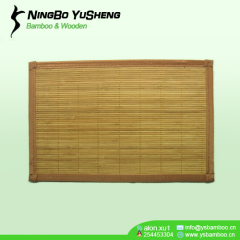 Carbonize Bamboo Placemat in Double Sides
