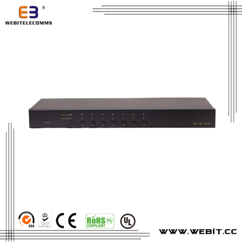 "19"" fixed remote control KVM switch"