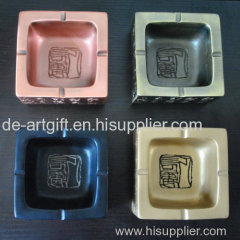 Print custom logo ashtray resin Custom Cigar Ashtray