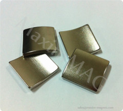 Neodymium quality arc magnets for permanent magnet brushless dc motors