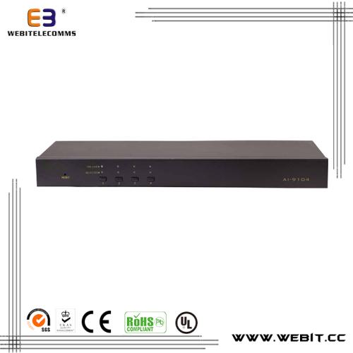 Rack mountable VGA KVM console