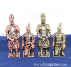 Handmade Chinese statue Chinese warrior statue