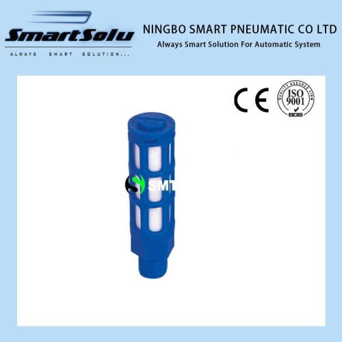 plastic pneumatic SU muffler