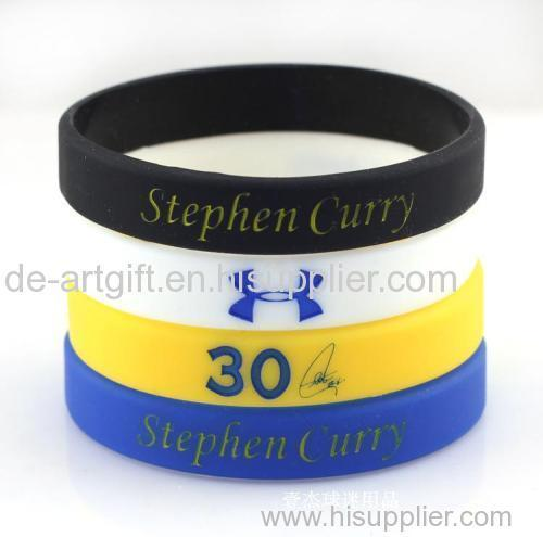 Cheap Custom Promotional silicone bracelets