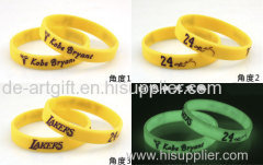 custom debossed wristband customize silicone bracelet