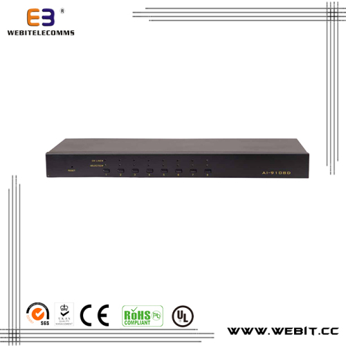 IP remote control 8 port VGA KVM switch