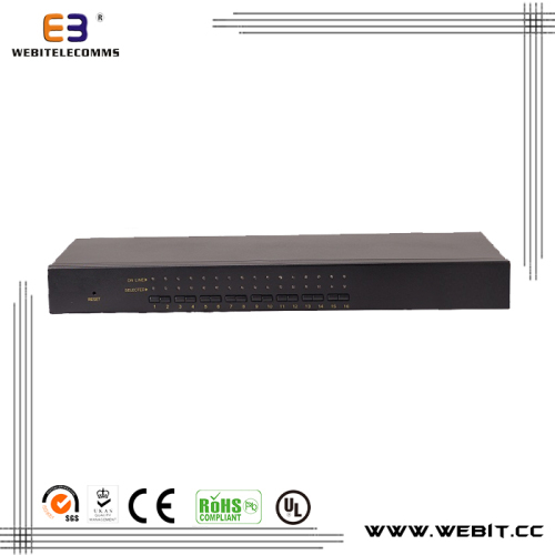 Card series rack mounted KVM console