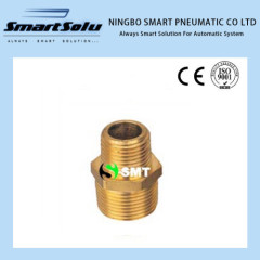 C-006 Brass Fittings straight couple