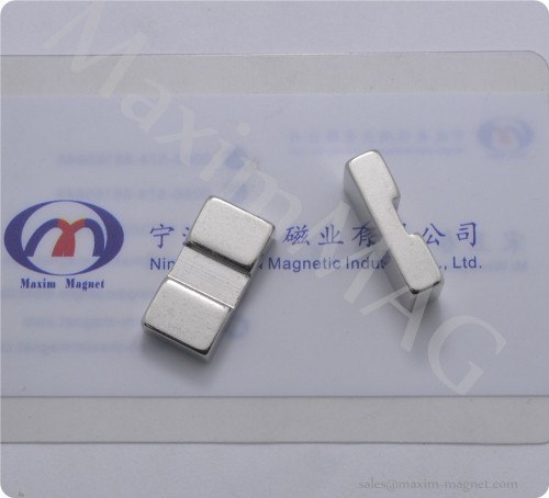 Neodymium custom made magnets in irregular shapes