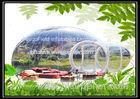 Inflatable Bubble Tent Outdoor With 2 Tunnels / Inflatable Bubble Lodge Tent