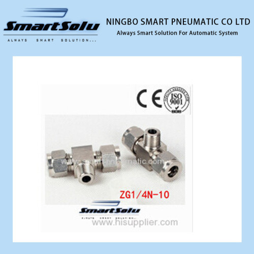 Tee Union Stainless Steel Connector Fittings