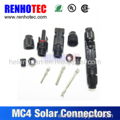 IP68 TUV Approved MC4 solar cable connector