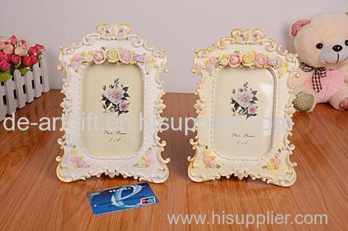 wholesale resin lovely photo picture frame