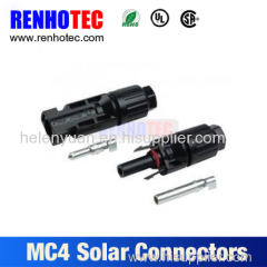 TUV approval Photovoltaic Solar MC4 connector with 1 pair