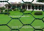 2 inch Woven PVC Coated Rabbit Wire Netting With Low Carbon Steel 3/4'' Galvanized