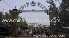 forged iron gate;decorative forged iron gate