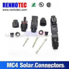 Automotive injector connector mc4 solar connector