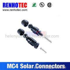 Solar MC4 female connector TUV approval