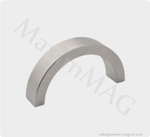 Neodymium arc segment magnets half ring magnets