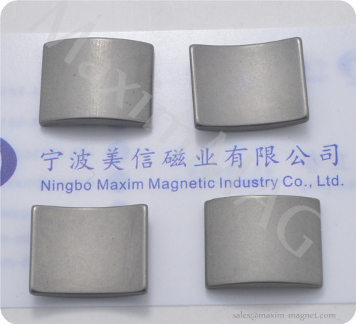 Neodymium magnets of passivate coating for automobile motors