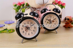 Mini Metal Travel Alarm Clock