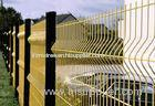 High Security Electric Galvanized Welded Green 4x4 Wire Mesh Fencing