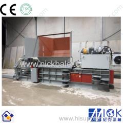 Scrap recycling baling press