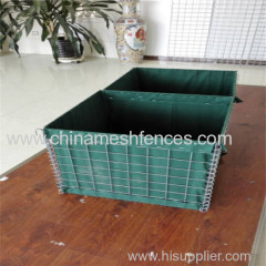 military hesco barrier for sale /hesco retaining wall Welded hesco bastion
