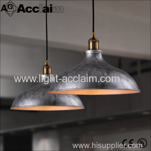 Industrial style Lid chandelier Industrial wind retro restaurant bar Single Head American country
